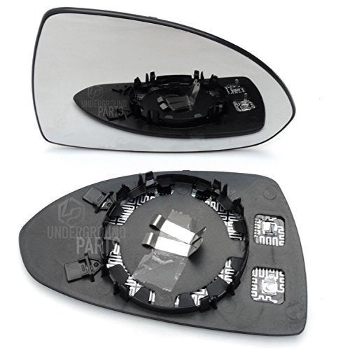 Underground Parts F-MD-24L Panther Black Door Wing Mirror Cover Cap Left Passenger side