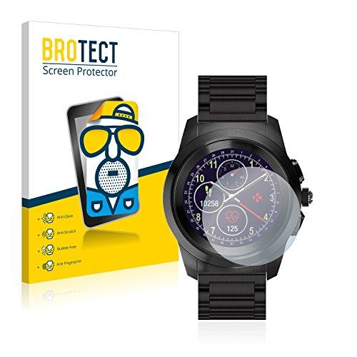 BROTECT 2X Entspiegelungs-Schutzfolie kompatibel mit MyKronoz ZeTime Elite Regular (44 mm) Bildschirmschutz-Folie Matt, Anti-Reflex, Anti-Fingerprint