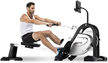 JOROTO Magnetic Rower Rowing Machine - Row Machine Exercise Equipment for Home use