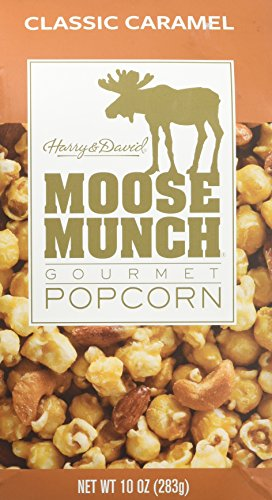 Harry & David Moose Munch Gourmet Popcorn Classic Caramel 10 oz Package