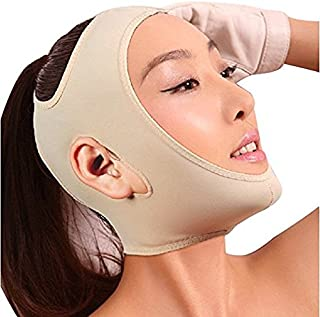 Joly Full Face Style Anti Wrinkle Face Slimming Cheek Mask Lift V Face Line Slim 5 Size for Your Choice (XXL-# 1844)