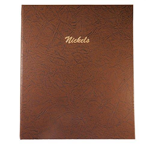 Dansco Nickels Plain with 140 Ports Album #7117