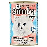 Monge Bocconcini Gatto con Tonno Simba, 415g