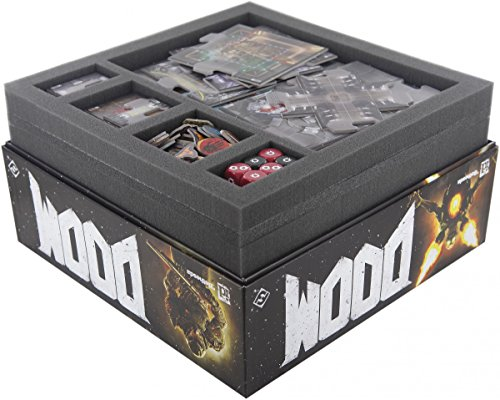 Feldherr Foam Tray Value Set for Doom The Board Game