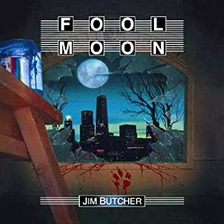 Fool Moon     The Dresden Files, Book 2              Written by:                                                                                                                                 Jim Butcher                               Narrated by:                                                                                                                                 James Marsters                      Length: 10 hrs and 6 mins     142 ratings     Overall 4.6