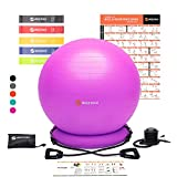 Best Ball Chairs - WISEMAX Exercise Ball Chair – Stability Yoga Balance Review