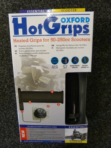 Poignées chauffantes Scooter - Oxford Hot Grips