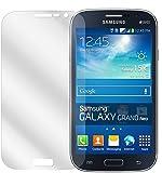 dipos I 6X Schutzfolie klar kompatibel mit Samsung Galaxy Grand Neo Plus Folie Bildschirmschutzfolie