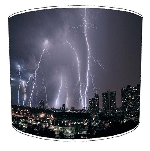 10 inch New York City Lightening Abat-Jour pour Un plafonnier