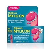 Children's Mylicon Tummy Relief for Kids, Cherry Flavor, 24 Chewable Tablets