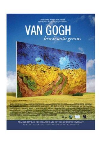 CORNERSTONE Van Gogh - Brush With Genius [BLU-RAY]