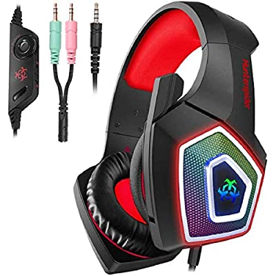 Hunterspider Gaming Headset for PS4,Surround So...