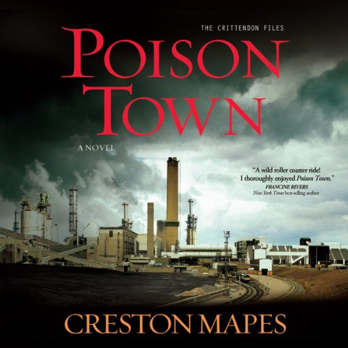 Poison Town audiobook cover art