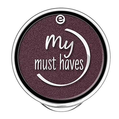 essence - Lidschatten - my must haves eyeshadow 18 - black as a berry