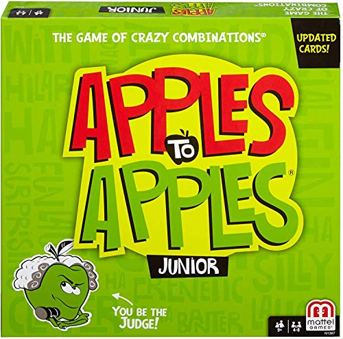 Mattel Games Apples to Apples Junior -...