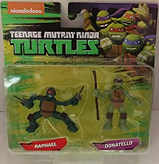 Teenage Mutant Ninja Turtles Raph & Donnie Mini Figure 2 Pack