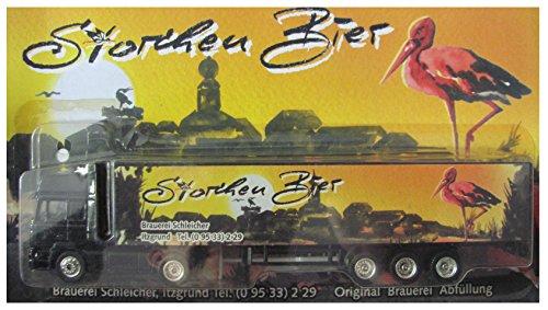 Unbekannt Brauerei Schleicher Nr.02 - Storchen Bier - Man F2000 - Sattelzug