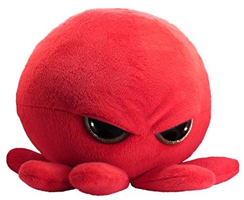 Grumpy Baby Octopus – niedliches, superweiches Plüschtier (Glitzeraugen) – groß 30,5 cm – einzigartiges Geschenk für Kinder und Erwachsene