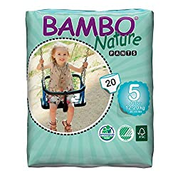 Best Pull Up Diapers - Bambo Nature Eco-Friendly Baby Training Pants