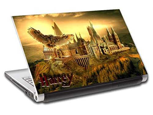 Harry Potter Hogwarts Personalized LAPTOP Skin Vinyl Decal Sticker NAME L169, 15.6'