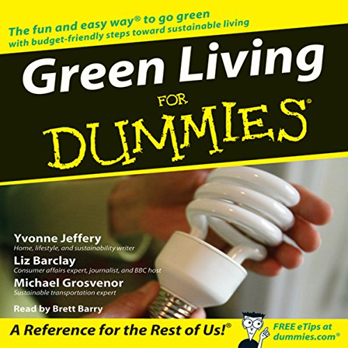 Green Living for Dummies audiobook cover art
