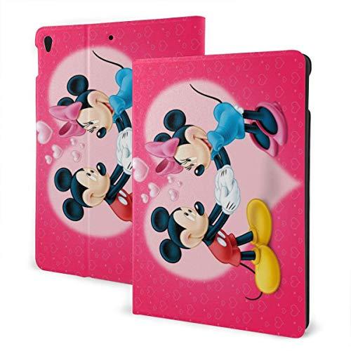 Minnie Mouse Funda para iPad Talla única con soporte automático para reposo/activación Funda de cuero para Ipad Air (3.a generación), Pro 10.5, 7th Generation 10.2 pulgadas IPD-1239
