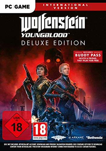 Wolfenstein: Youngblood - Deluxe Edition (Internationale Version) [Windows] [Importación alemana]