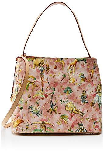 piero guidi Hobo Bag, Borsa a Spalla Donna, Rosa (Rosa Antico), 31,5x30x14,5 cm (W x H x L)