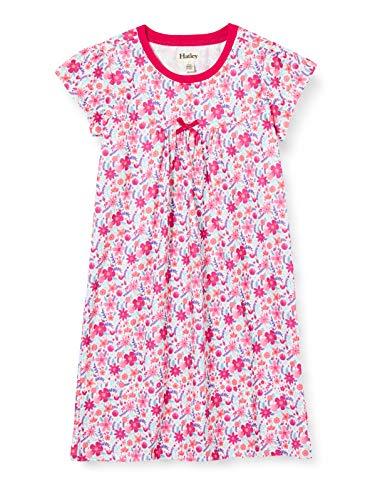 Hatley Short Sleeve Nighties Camicia da Notte, Rosa (Summer Garden 650), 2 Anni Bambina