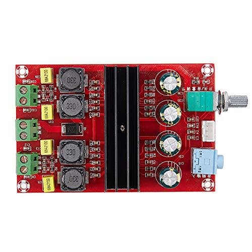 Mucjun Tda3116D2 Amplificador de Potencia de Audio Digital 100W X2 2.0 Clase D Amplificador HiFi DC 12V 24V Xh-M190 D3-007