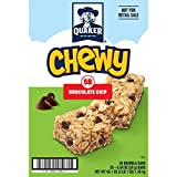 Quaker Chewy Granola Bars, Chocolate Chip, (58 Pack)