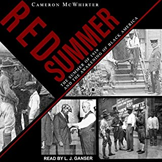 Red Summer audiobook cover art