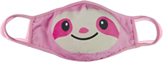 iscream Child's Fancy Friends Reversible Double Layer Face Cover with Pocket