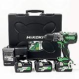 HiKOKI(ハイコーキ)旧日立工機 36Vコードレス振動ドライバドリル DV36DA(2XP) 蓄電池合計3個セット【2020年11月30日(月)23:59まで】