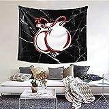 Tapiz colgante de pared Spain Tapestry Black Marble Tapestries Wall Hanging for Bedroom Aesthetic 60' x 51'