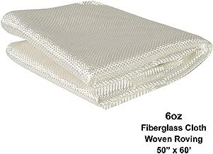 Simond's Fiberglass Woven Roving Cloth (6 Oz, Plain Weave) (50