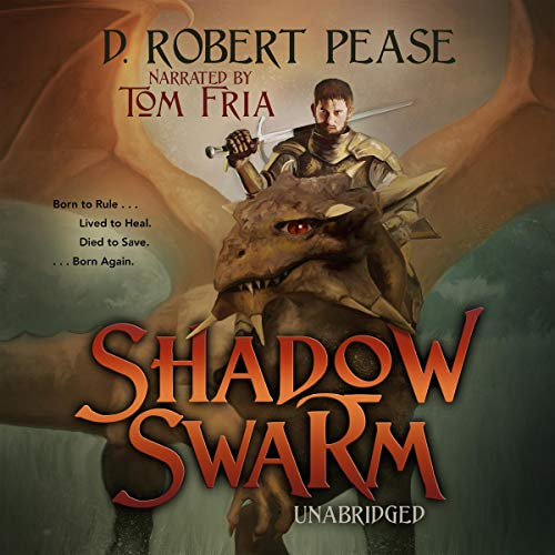 Shadow Swarm audiobook cover art