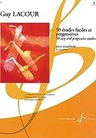 ラクール : 50の易しく漸新的な練習曲 第二巻 (サクソフォン教則本) ビヨドー出版