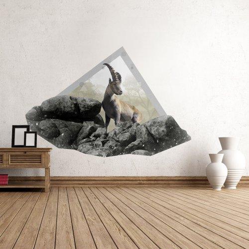 sticker mural 74x50 cm autocollants 74x50 040105-9