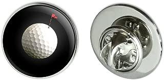 GRAPHICS & MORE Golf Ball Moon Flag Golfing Metal 0.75