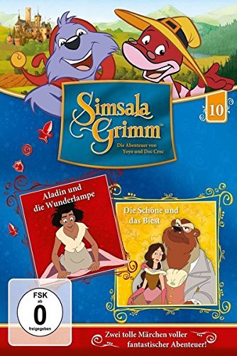 SimsalaGrimm 10 - Aladin / Die Schöne und das Biest