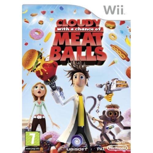 Cloudy With A Chance Of Meatballs (Wii) [Edizione: Regno Unito]