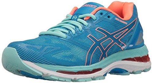Asics Gel-Nimbus 19 –scarpe da corsa da donna, grigio, taglia unica, Gel-nimbus 19, Blu