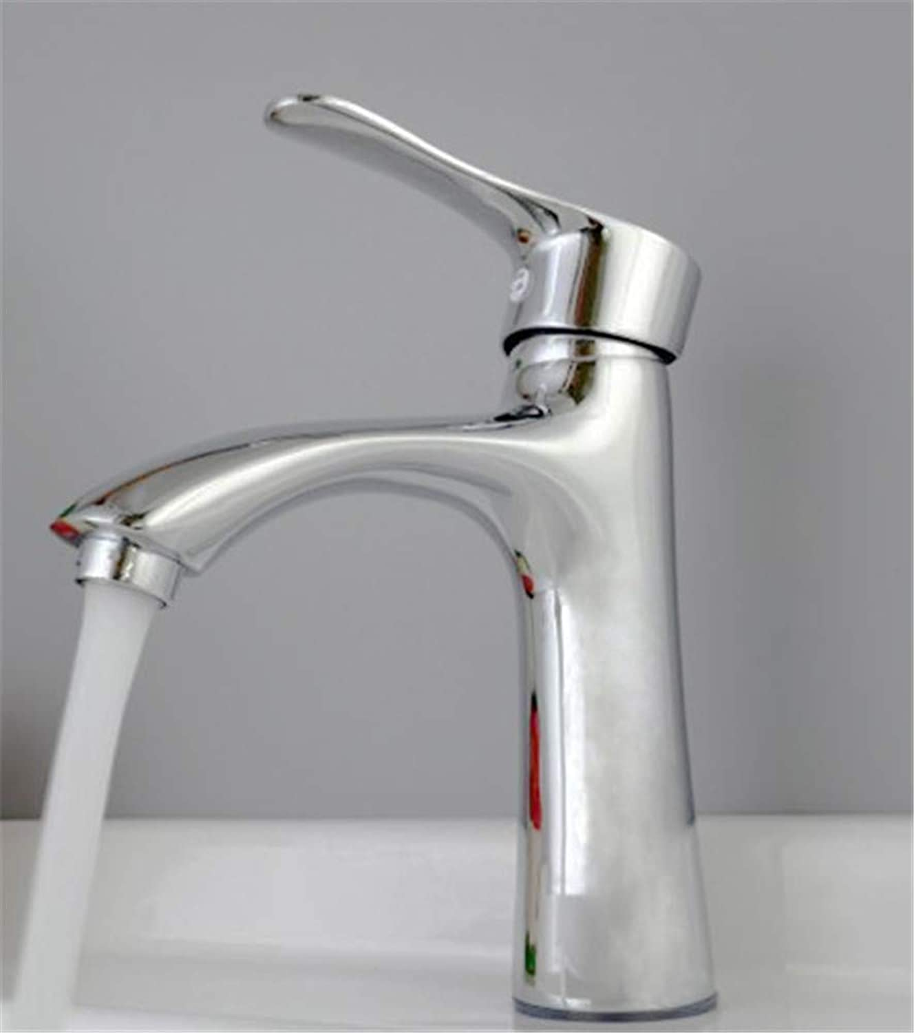 Faucet Modern Luxury All Copper Washbasin, Faucet, Washbasin, Hot and Cold Water Faucet, Basin Top Faucet.