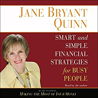 Smart and Simple Financial Strategies for Busy People audiobook cover art
