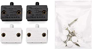 4pcs Cabinet Lamp Switch Wardrobe Touch Switches Drawers Open on Close Door