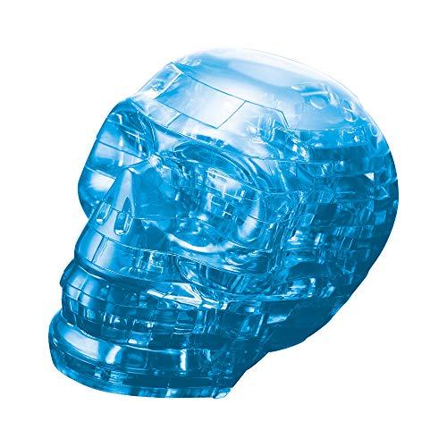 BePuzzled (BEPUA) Std. Crystal Puzzle- Skull (Blue)