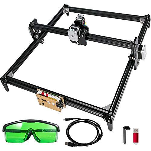 VEVOR 500mW Macchina per Incisore laser CNC Kit per Incisore laser 40X50cm Stampante laser fai-da-te Stampante per Marcatura di Immagini