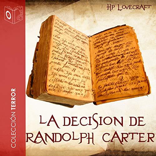 『La decisión de Randolph Carter』のカバーアート