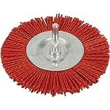 Silverline 589713 Nylon-Scheibenbürste 100 mm, grob